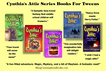 Cynthia's Attic Fantasy Series by Mary Cunningham