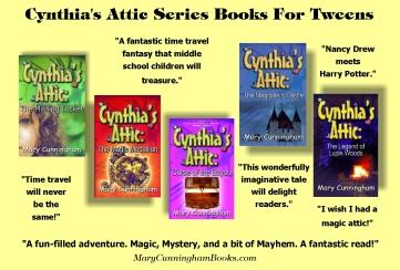 Cynthia's Attic Fantasy Series by Mary Cunningham