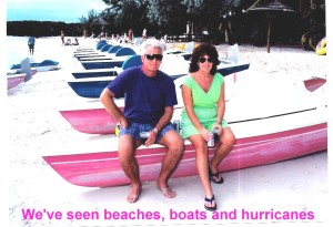 beaches, boats and hurricanes