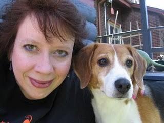 Julia Buckley and friend