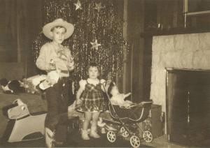 Tom and Mary at Christmas